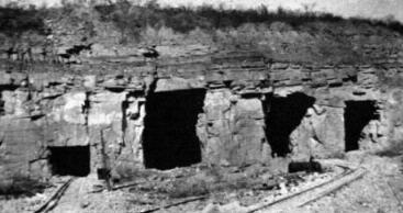 Casparis Caverns in 1931