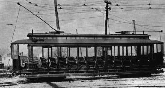 Summer Street Car, taken about 1910