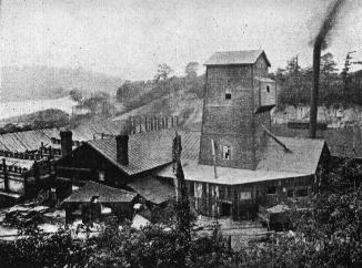 Soisson Brick Company's plant at Volcano, PA (Where the sewage treatment plant now stands)
